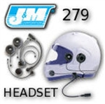 J&M 279 Performance Series Headsets and Cords