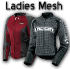 Ladies Mesh Motorcycle Jackets