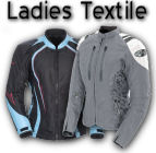 Ladies Textile Motorcycle Jackets