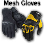Mens Mesh Motorcycle Gloves