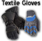 Mens Textile Motorcycle Gloves