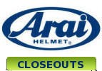 Arai Full Face Closeouts