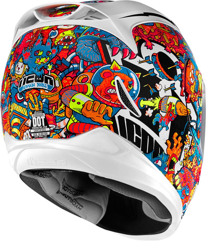 Icon Airmada Graphics - Motorcycle helmet decals graphicsmotorcycle helmet graphics the easy helmet upgrade
