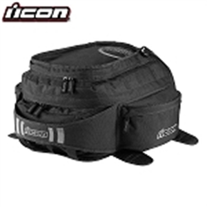 Icon Urban Tank Bag/Backpack Black