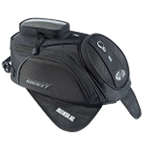 Joe Rocket Manta Tank Bag Xl Black/Black
