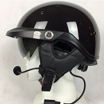 Bell Pit Boss Helmet with J&M 801 Elite Headset