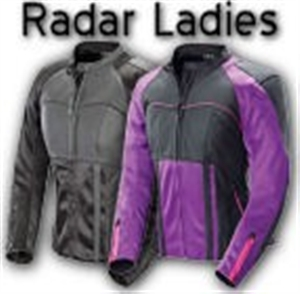 Joe Rocket Radar Womens Leather Motorcycle Jackets