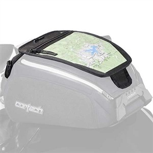 Cortech Dryver Tank Bag Map Pocket