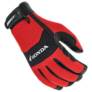 Joe Rocket Honda Crew Touch Textile Gloves