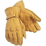 Tourmaster Deerskin Leather Motorcycle Gloves