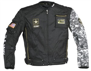 Joe Rocket U.S. Army Alpha Motorcycle Jackets