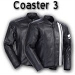 Tourmaster Coaster 3 Leather Motorcycle Jackets