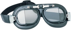Drag Specialties Red Baron Goggles