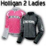 Icon Hooligan Glam Womens Mesh Motorcycle Jackets