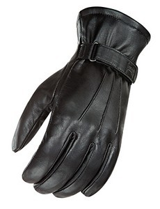 Power Trip Jet Black Lined Glove