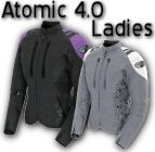Joe Rocket Atomic 4.0 Womens Hi Viz Textile Motorcycle Jacket