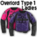 Icon Overlord Type 1 Womens Textile Motorcycle Jackets