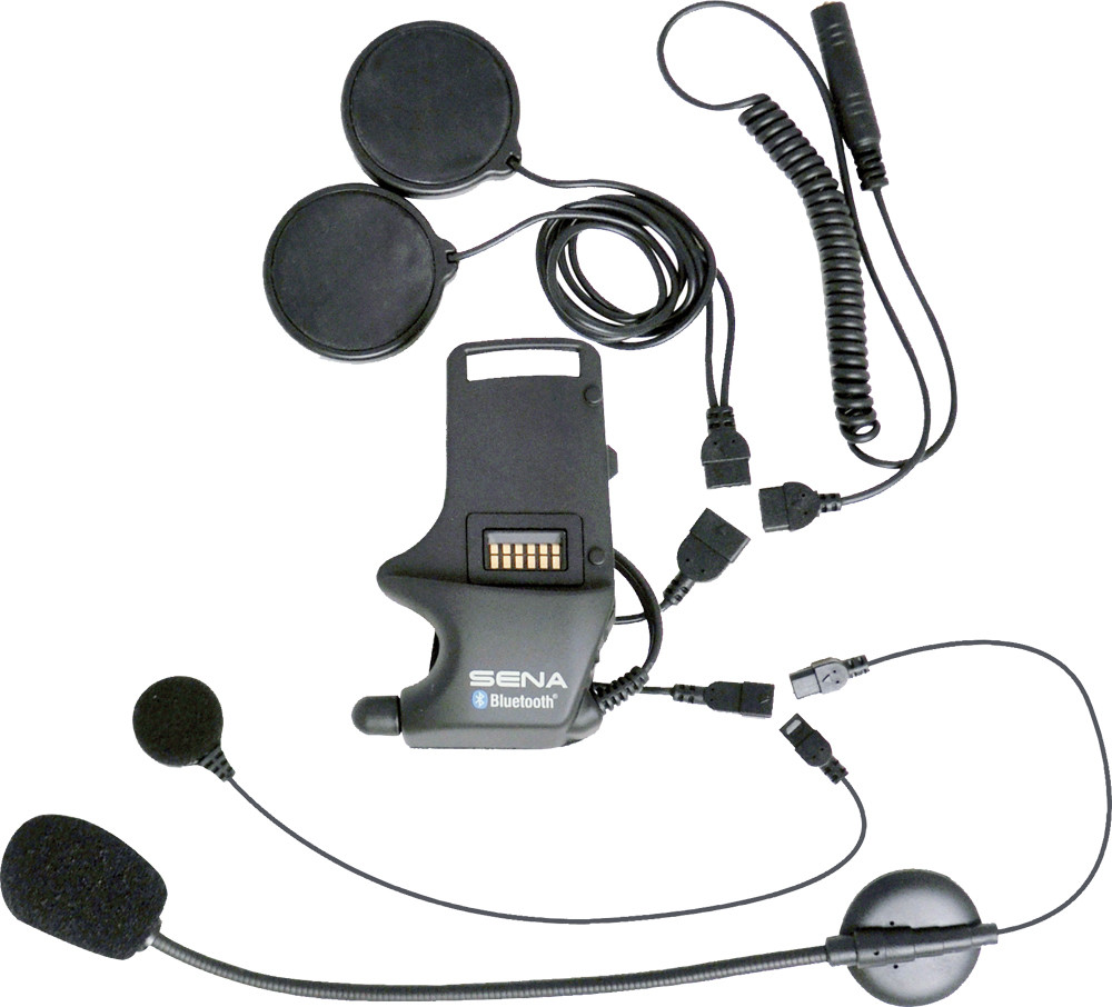CLAMP KIT FOR SPEAKERS-EARBUDS ATTACHABLE BOOM-WIRED MIC SMH-A0306