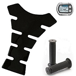 Bike Accessories, Phone, Tank Pads and Grips