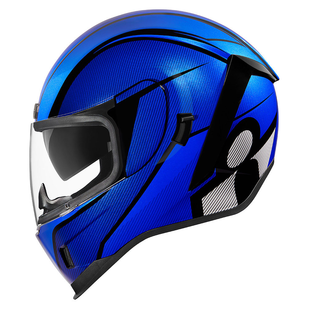 ICON Airform Conflux Blue Helmet