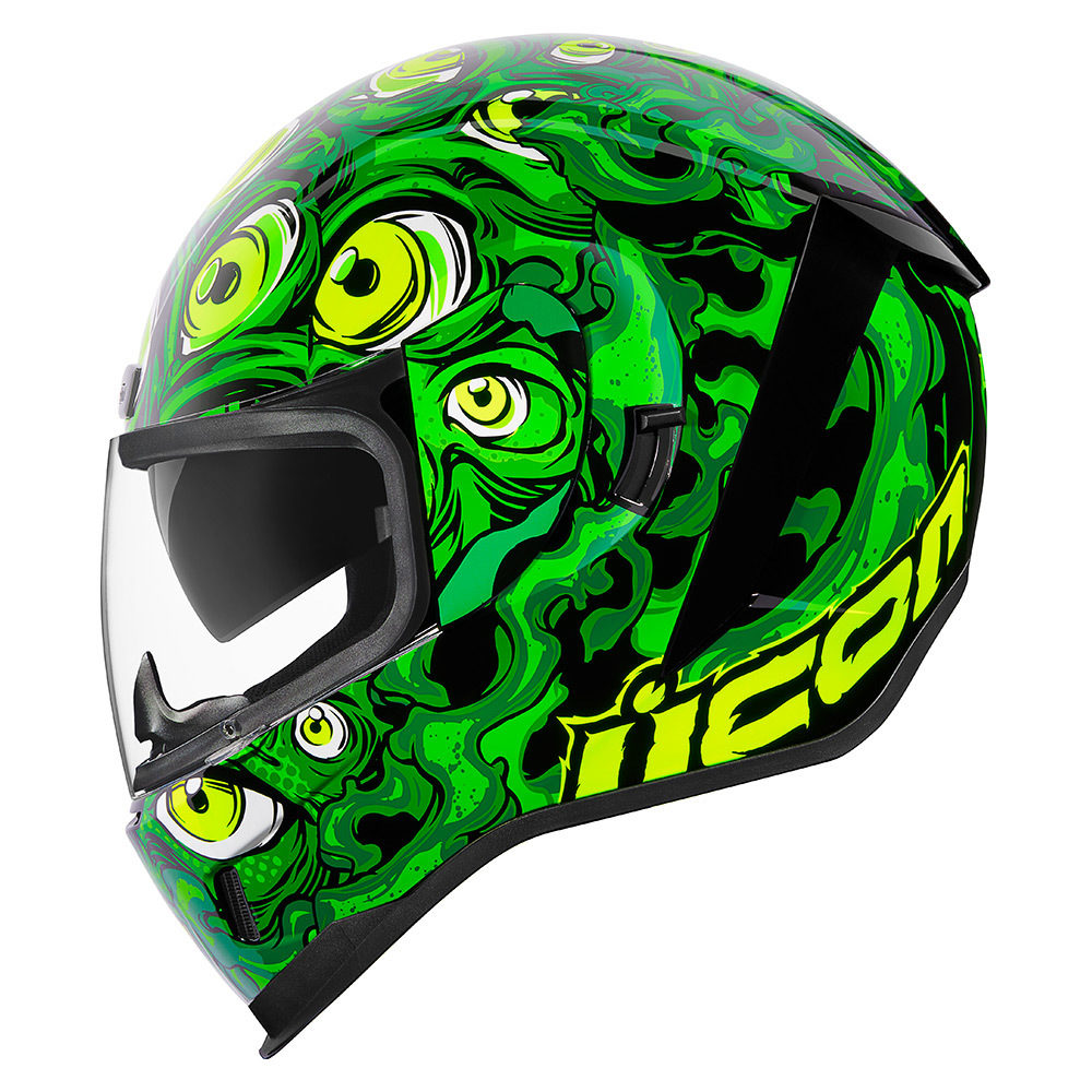 ICON Airform Illuminatus Green Helmet