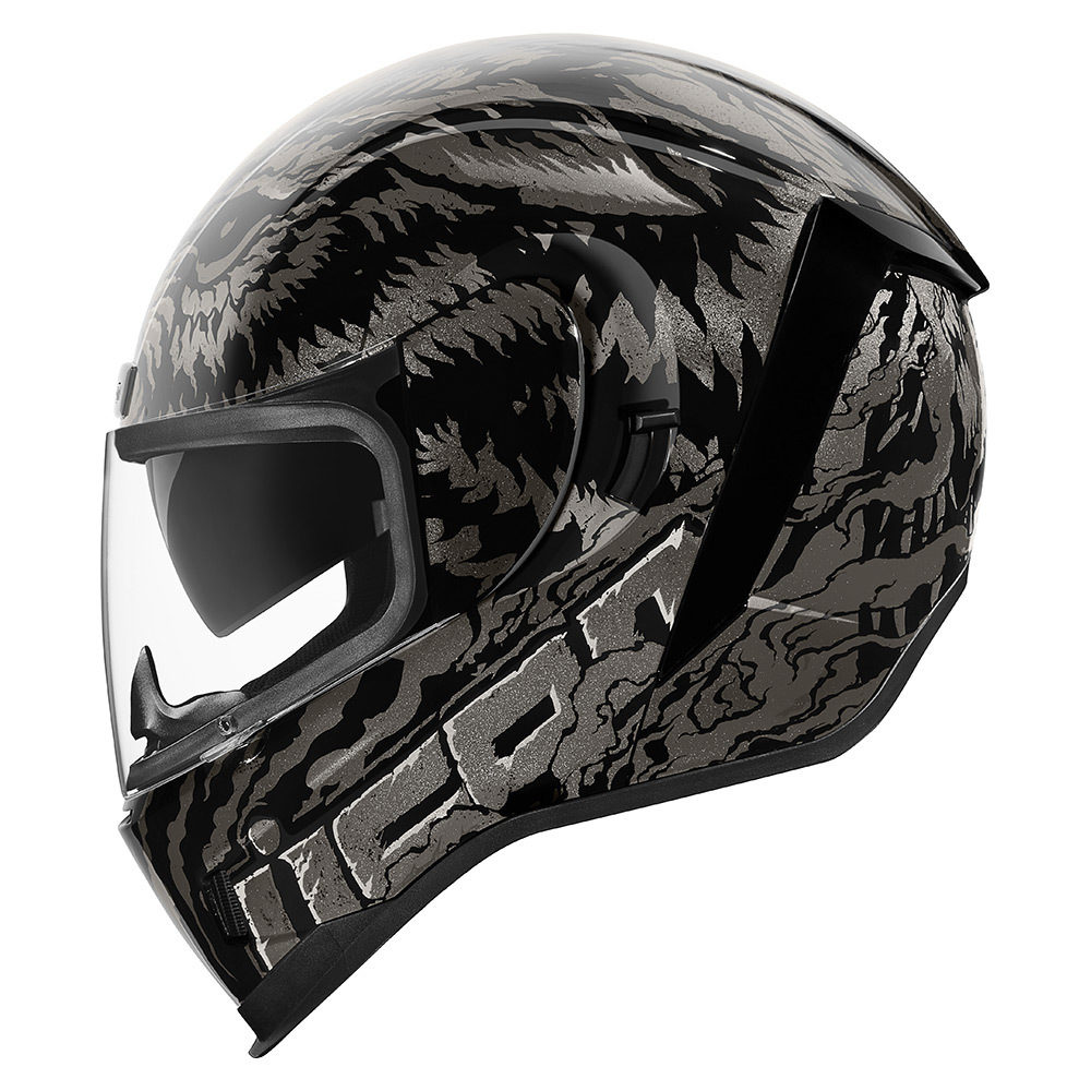 ICON Airform Lycan Black Helmet