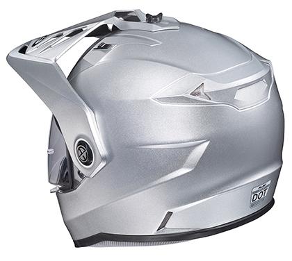 HJC DS-X1 Lander Snow Helmet with Dual Lens Shield Hi-Viz Yellow MC-3H Yellow, Medium
