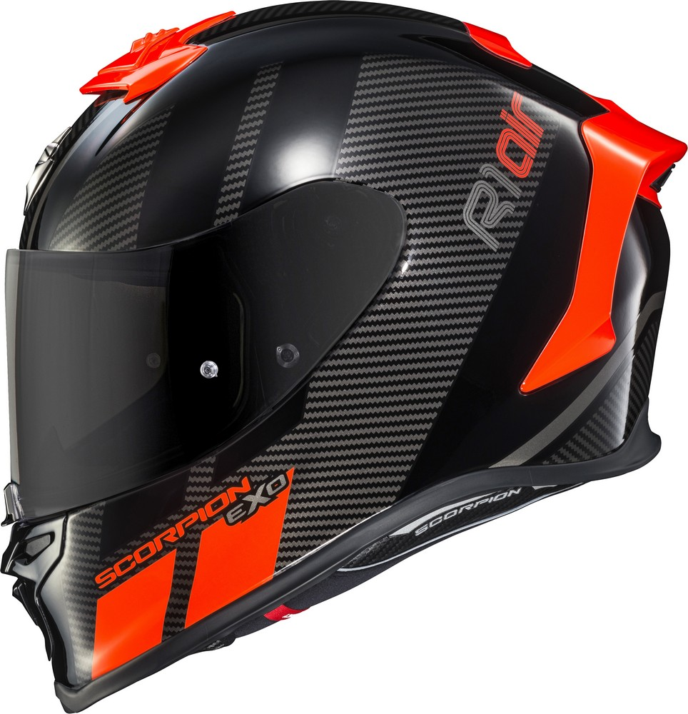 Scorpion EXO-R1 Air Corpus Neon Red Helmet