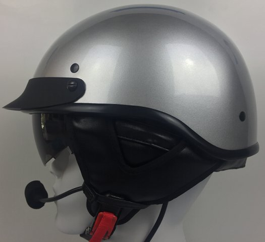 DPS100 Shorty Helmet With J&M 801 Headset