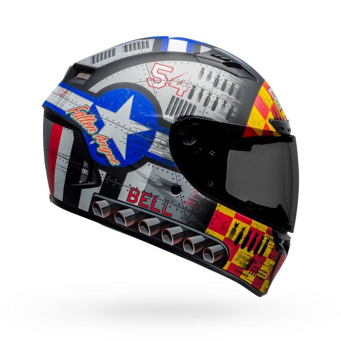 Devil May Care 2020 Matte Gray, X-Small Bell Qualifier DLX MIPS Full-Face Motorcycle Helmet