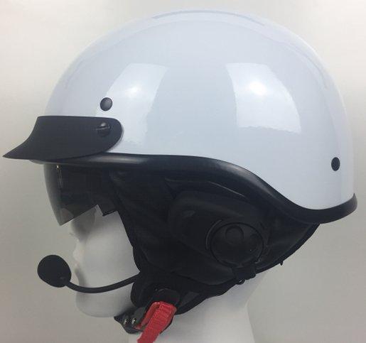 DPS100 Shorty Helmet With Sena SPH10H-FM