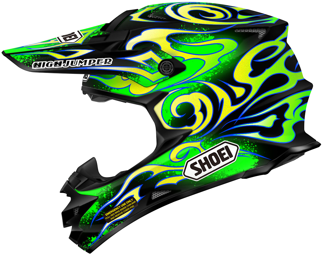 Shoei VFX-W Graphics