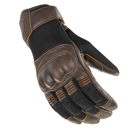 Joe Rocket Mercury Brown-Black Gloves