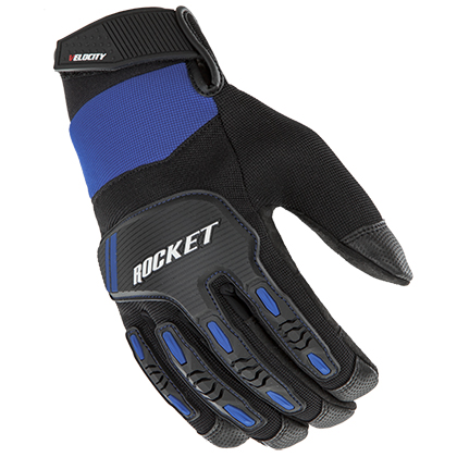 Joe Rocket Velocity 3.0 Blue-Black Gloves