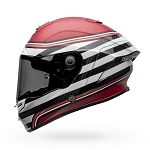 BELL Race Star Flex DLX RSD The Zone White/Candy Red Helmet