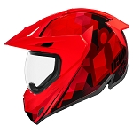 ICON Variant PRO Acension Red Helmet