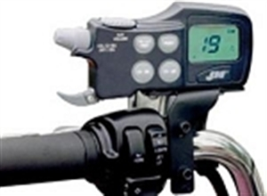 J&M Handlebar Mounted CB Radio - Driver Only