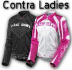 Icon Contra Womens Textile Motorcycle Jackets