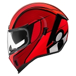 ICON Airform Conflux Red Helmet