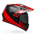 BELL MX-9 Adventure MIPS Dash Black/Red/White Helmet