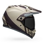 BELL MX-9 Adventure MIPS Dash Matte Sand/Brown/Gray Helmet