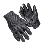 Cortech The Bully Black Leather Gloves