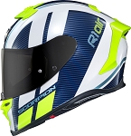 Scorpion EXO-R1 Air Corpus White/Blue Helmet