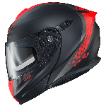Scorpion EXO-GT920 Unit Matte Black/Neon Red Helmet