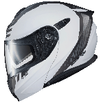 Scorpion EXO-GT920 Unit Matte White/Dark Gray Helmet