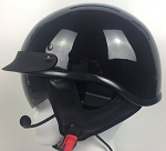 DPS100 Shorty Helmet With IMC Headset