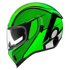 ICON Airform Conflux Green Helmet
