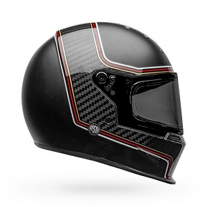 BELL Eliminator Carbon RSD The Charge Matte/Gloss Black Helmet