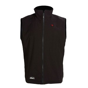 Venture Soft Shell Battery Heated Mens Vest
