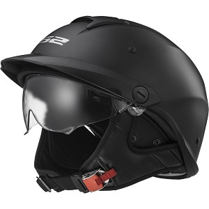 LS2 Rebellion Half Helmet
